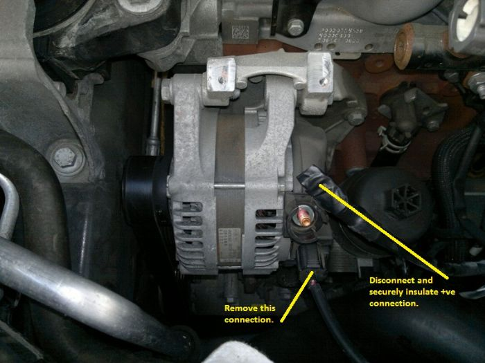 Alternator Removal Lots Of Pictures Ford Kuga Owners