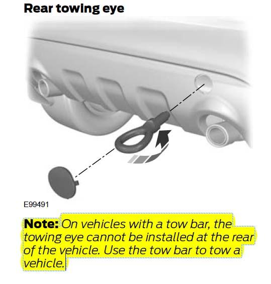 ford kuga towbar fitting instructions