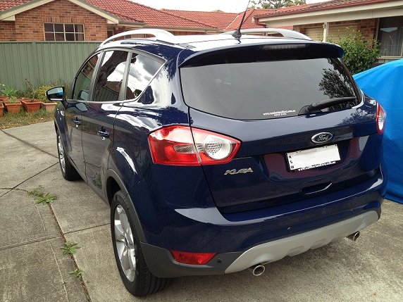 Kuga From Downunder Blazer Blue Ford Kuga Owners Club