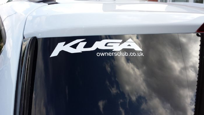 Frozen White Ford Kuga Owners Club Forums